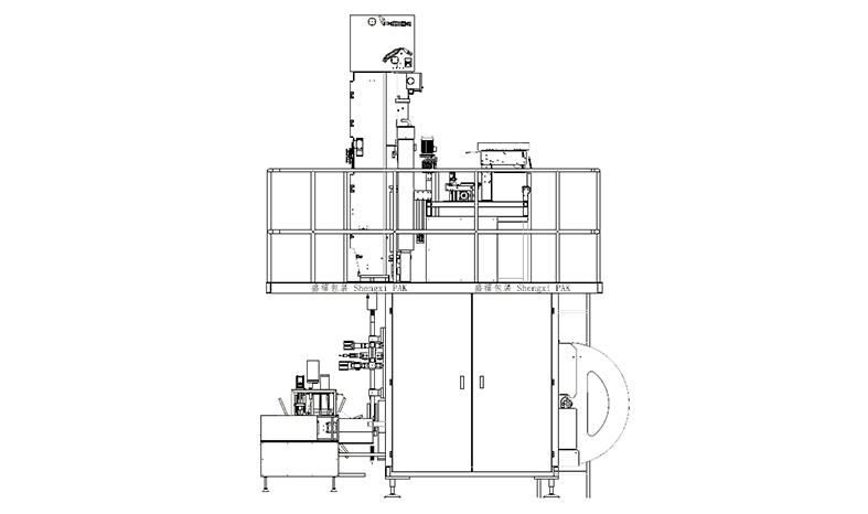 无菌纸盒包装机(大包型)